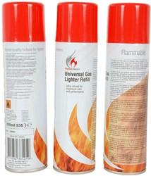 Wegwerp Aanstekergas 250ml Flame classic
