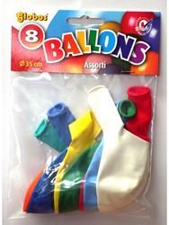 Superballons Su/8 Zakje µ 8st.
