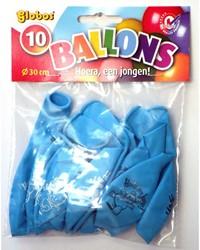 Ballon Hoera Een Jongen Zakjeµ 10st.