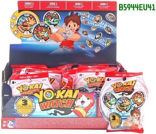 Yo-kai Watch Medal Mystery Bags Series 2 in display