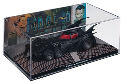 "Batman Collectable Batmobile Die-Cast ""Batman: The Return #1"" 19x10x7cm"