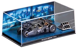 "Batman Collectable Batmobile Die-Cast ""Batman Begins Movie"" 19x10x7cm"