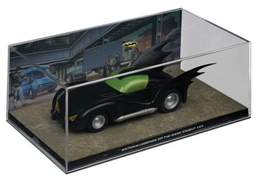 """Batman Collectable Batmobile Die-Cast """"Batman: Legends of the D.. #30"""" 19x10x7cm"""