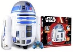 Disney Star Wars RC R2D2 opblaasbaar met geluid 64cm