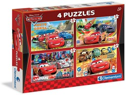 Disney Cars 4in1 Puzzel