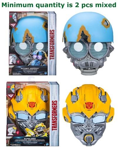 Hasbro Transformers Voice Changer Masker met geluid 2 assorti