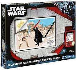 Clementoni Disney Star Wars Millenium Falcon tekenbord