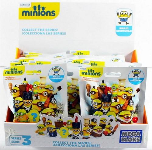 Mega Bloks Minions verzamelfiguren in zakje assorti in displ