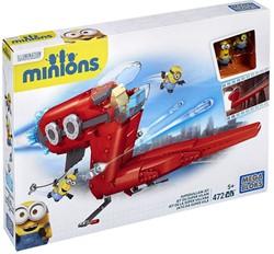 Mega Bloks Minions Supervillian Jet 472