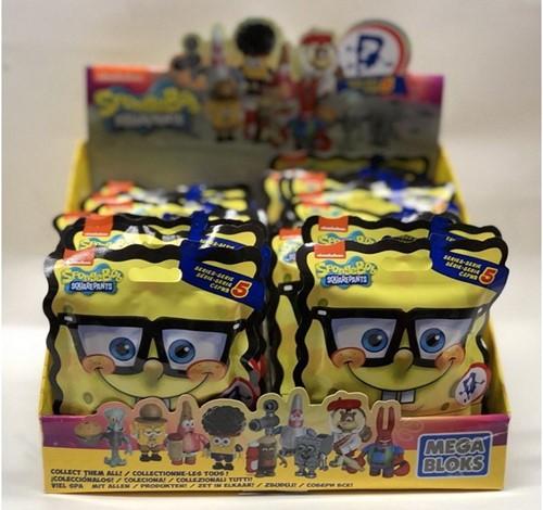 Blink Bag Mega Bloks Spongebob Serie 5 in display