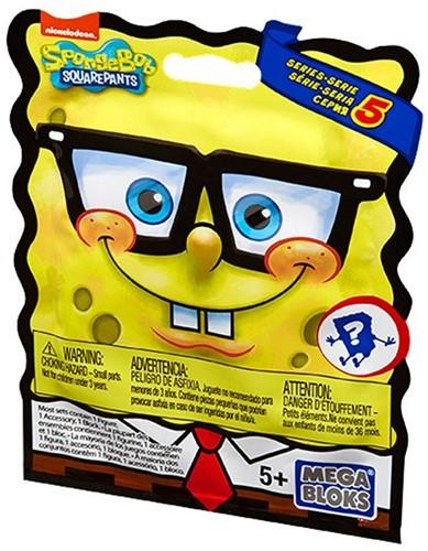 Blink Bag Mega Bloks Spongebob Serie 5 in display-2