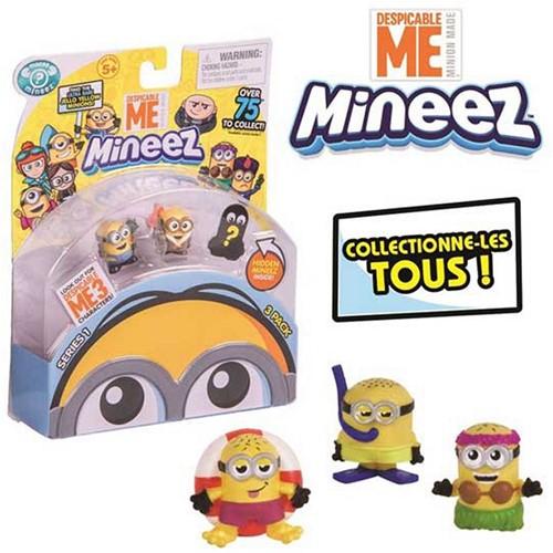 Despicable Me 3 Mineez Minions Verzamelfiguren 3-Pack assorti