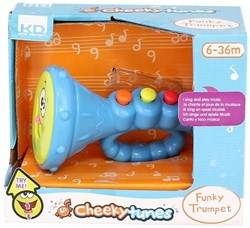 Cheeky Tunes Funky Trumpet 12-36 maanden