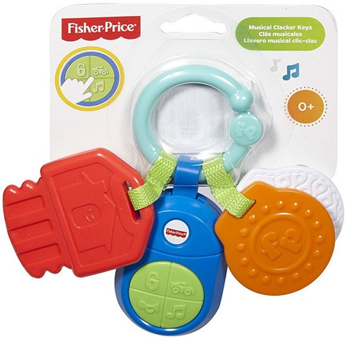 Fisher-Price Klik-Klak Muzieksleuteltjes