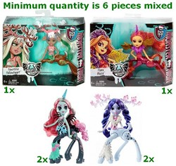 Monster High Fright Mares 5 assorti