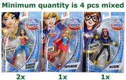 DC Super Hero Girls Action Figuren assorti 15cm