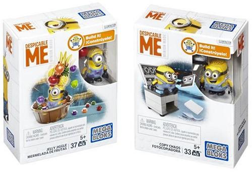 Mega Bloks Despicable Me Funpacks 3 assorti 10x12cm