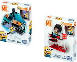 Mega Bloks Despicable Me Chair-o-matic 2 assorti 15x20cm