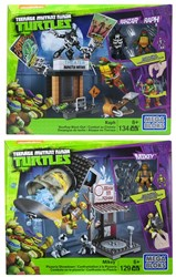 Mega Bloks TMNT NYC City Street assorti