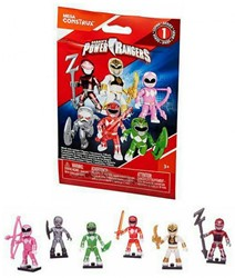 Blind Bag Mega Construx Power Rangers MAK Serie 1 in display