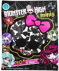 Blind Bag Monster High Minis assorti in