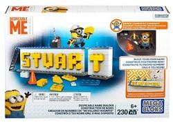 Mega Bloks Despicable Me Stuart Name Bui