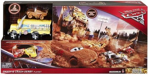 Disney Cars 3 Cooles Crash-Derby Speelset