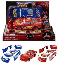 Disney Cars Cars 3 3-in-1 Change & Race Lightning McQueen