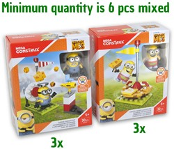 Mega Construx Despicable Me 2Cheese shootout 2 assorti 10x1