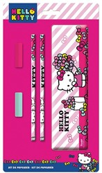 Hello Kitty Stationary Set 5 delig in blik 16x27cm