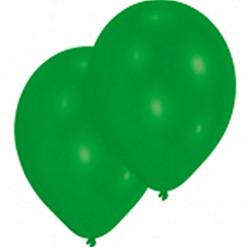 Ballonnen Latex Groen Parelmoer 25 stuks