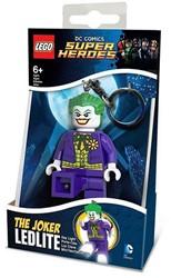 Lego DC Comics Super Heroes Mini LED-zaklamp met sleutelhanger Joker