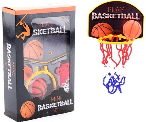 Mini Basketbalspel met basketbal in doos