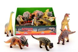 Animal World Dinosaurussen Soft 6 assorti