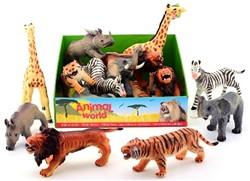 Animal World Wilde Dieren Soft 6 assorti