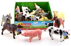 Animal World Boerderij Dieren,  Soft 6 assorti