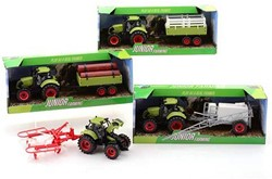Junior Farming tractor speelset medium 4 assorti