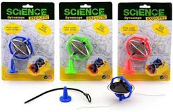Science Explorer Gyroscoop met licht en geluid 3 assorti