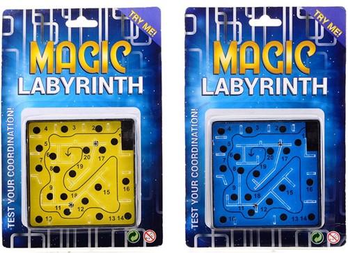 Magischedoolhoofopkaart,2assorti 15x23cm