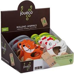 Jouéco® - Rollende dieren 4 assortie