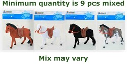 Paard 4 assorti 19cm
