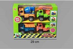 Kruiwagen 2 assorti kleuren 76x38x38cm