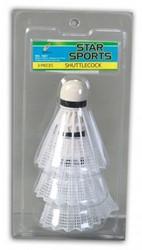 Badminton shuttels 3 stuks
