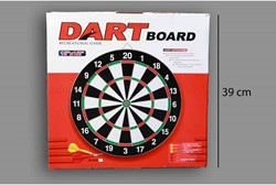 "Dartboard 15"" + 6 pijlen"