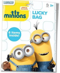 Lucky Bags Minions 23x30cm