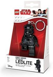 Lego Star Wars Mini LED-zaklamp met sleutelhanger Tie Pilot