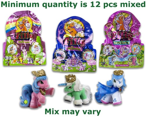 Blind Bag Filly verzamelfiguren assorti  4cm