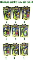 Zombie Zity - Trap Packs 6 assorti
