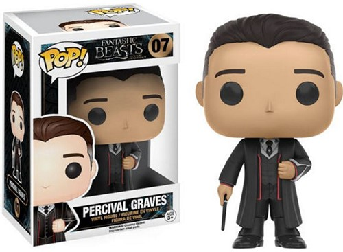 Pop! Vinyl Fantast Beasts Percival Graves