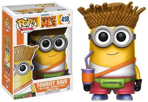 POP! Vinyl Despicable Me 3 Dave Tourist